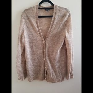 J.  Crew Mohair Cardigan Size Medium